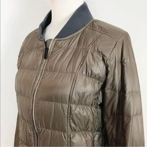 Athleta Jackets & Coats - Athleta Donny Down Bomber Zip Front Jacket M